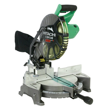 "Hitachi 10"" Compound Miter Saw With Laser Marker Model #C10FCH2"