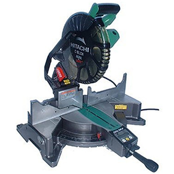"Hitachi C12LCH 12"" Compound Miter Saw With Digital Display & Laser Marker"