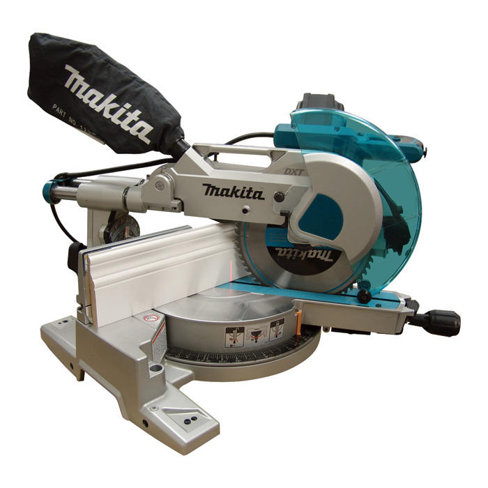Makita LS1016L Dual Slide 10 in Compound Miter Saw with Laser